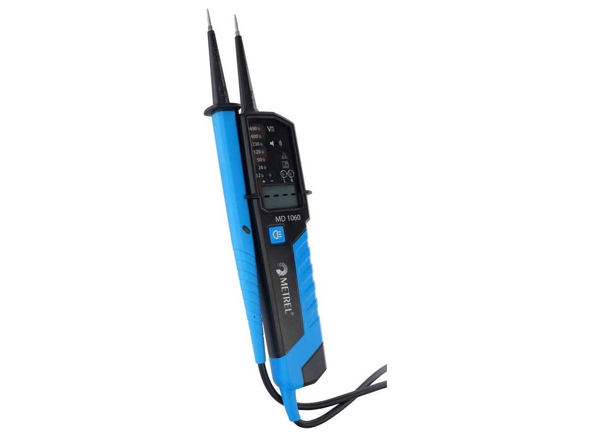 Md 1160 Lcd Voltage Continuity Tester Metrel South Africa