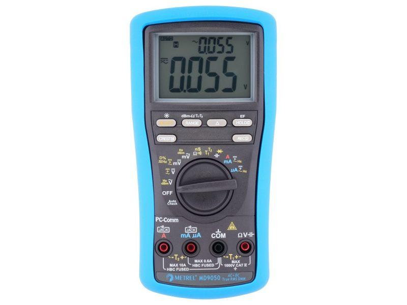 MD 9050 TRMS Heavy Duty Industrial Digital Multimeter