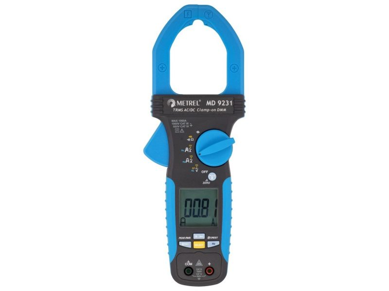 MD 9231 Industrial TRMS AC/DC Current Clamp Meter