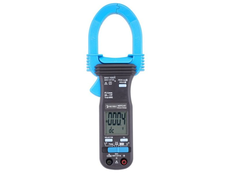 MD 9240 TRMS Power Clamp Meter