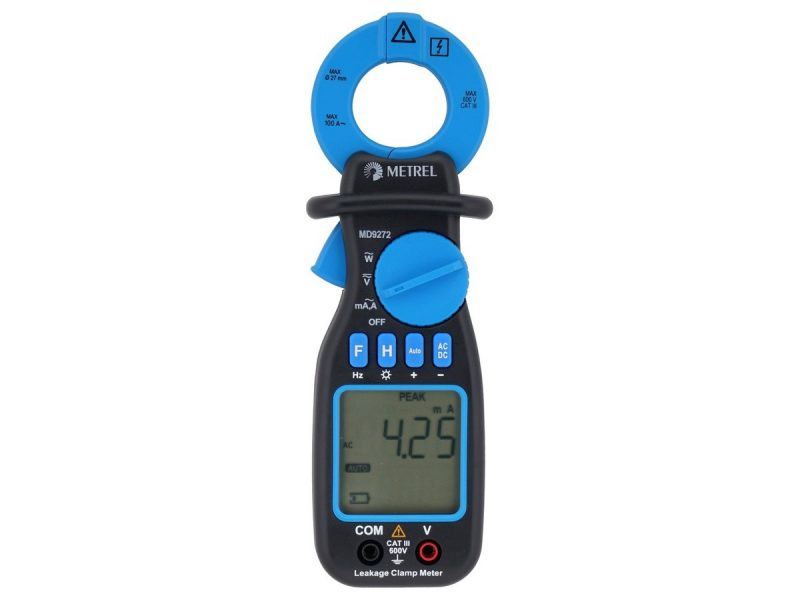 MD 9272 Leakage Clamp TRMS Meter with Power Functions