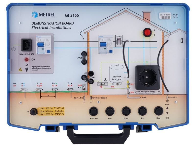 MI 2166 Demonstration Board